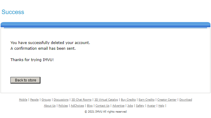 How to Delete an IMVU Account? Step by Step Guide